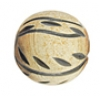 Horn Beads Round Carved 11mm Natural Worked On Bone